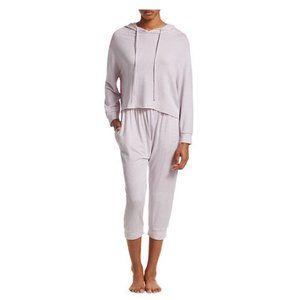 Eberjey Sadie Stripe Pajama Set Hoodie & Pants